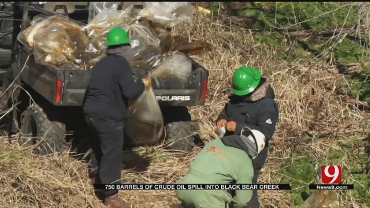 750 Barrels Of Crude Oil Spill Into Black Bear Creek In Garfield County