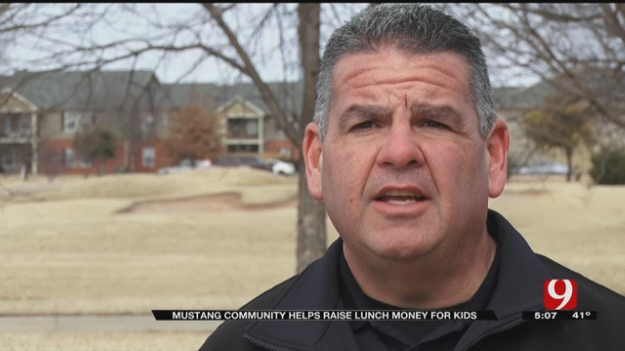 Mustang Police Officer Creates GoFundMe To Help Raise Lunch Money For Students