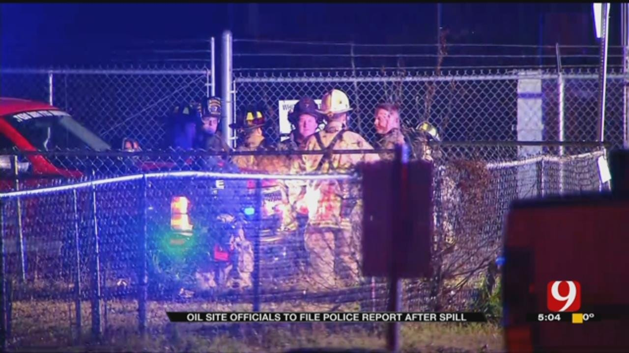 Company Says Oil Valves Intentionally Opened, Causing Neighborhood-Wide Spill