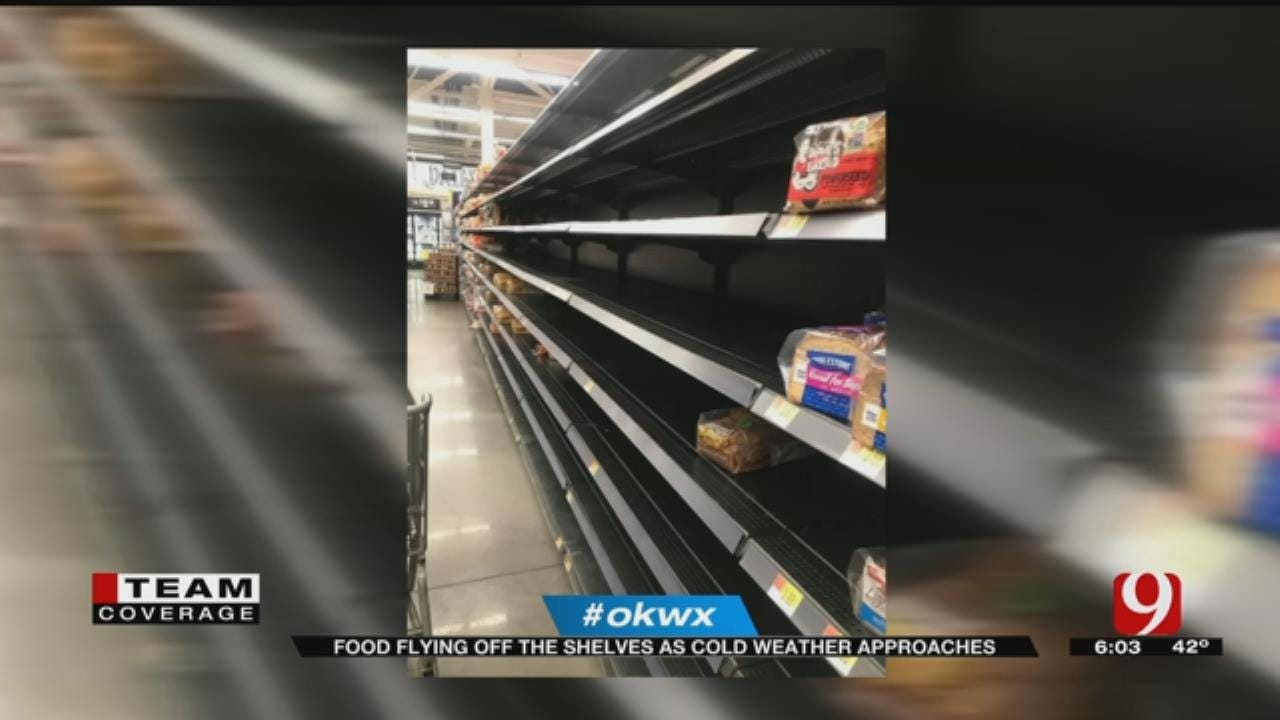 Food Flying Off The Shelves In Edmond As Cold Weather Approaches