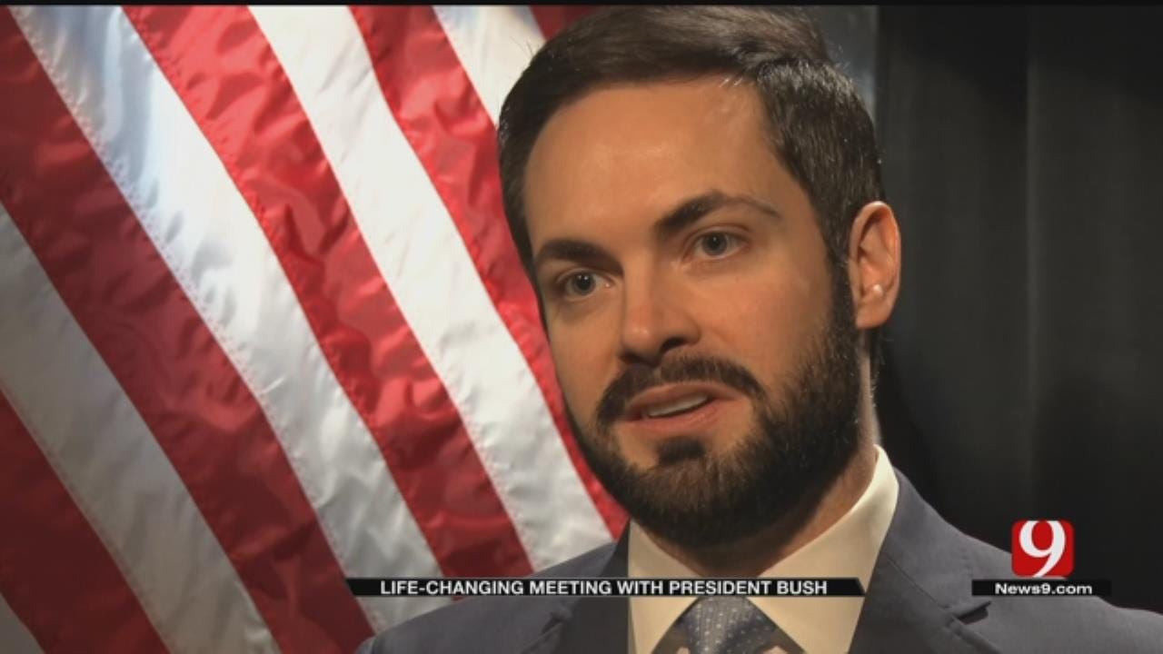 Oklahoman Inspired To Become Politician After Meeting With George H.W. Bush