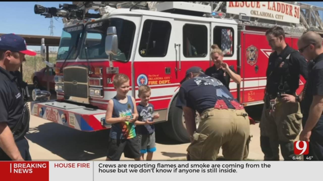 7-Year-Old Hailed A Hero After Saving Neighbors Life From Fire