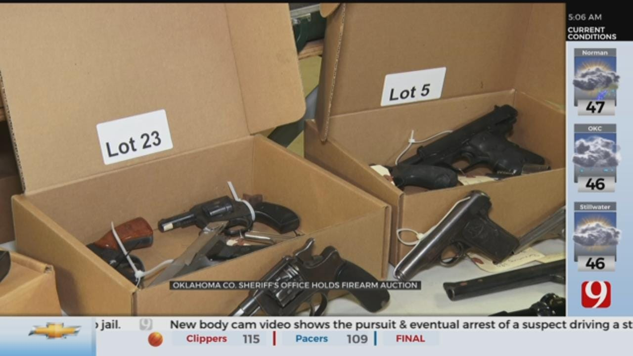 Oklahoma County Sheriff's Office To Hold Firearm Auction