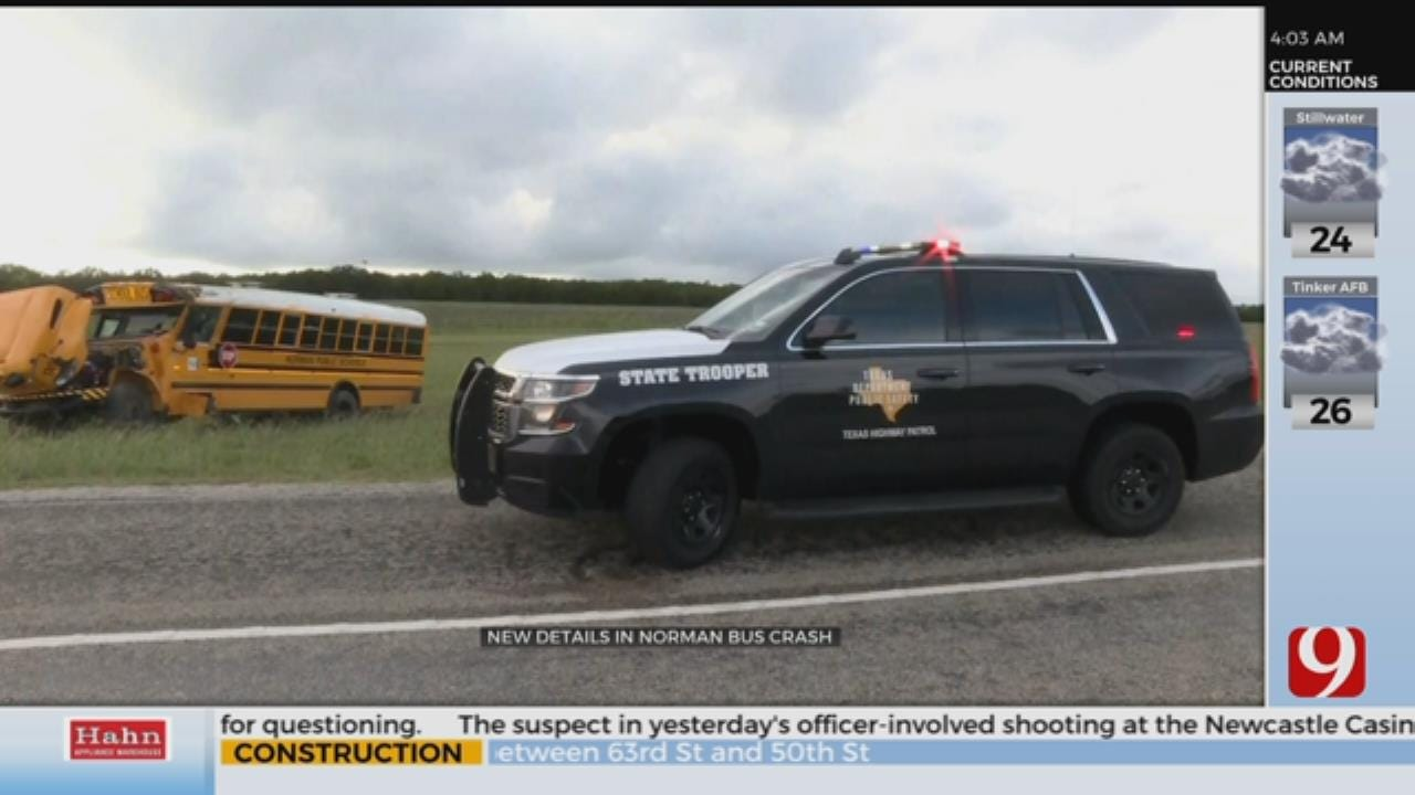 Norman Principal Speaks Out Following Bus Crash Allegations