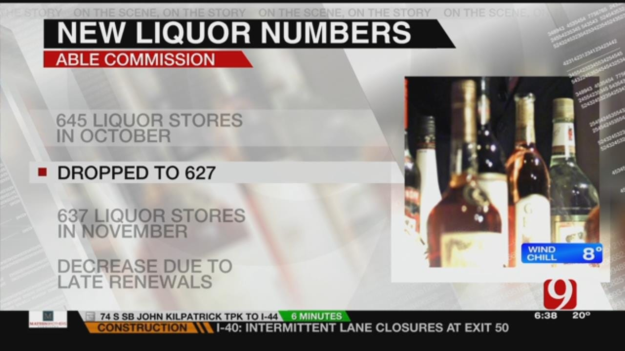 ABLE Commission Numbers Reveal Increase In Licensed Liquor Stores