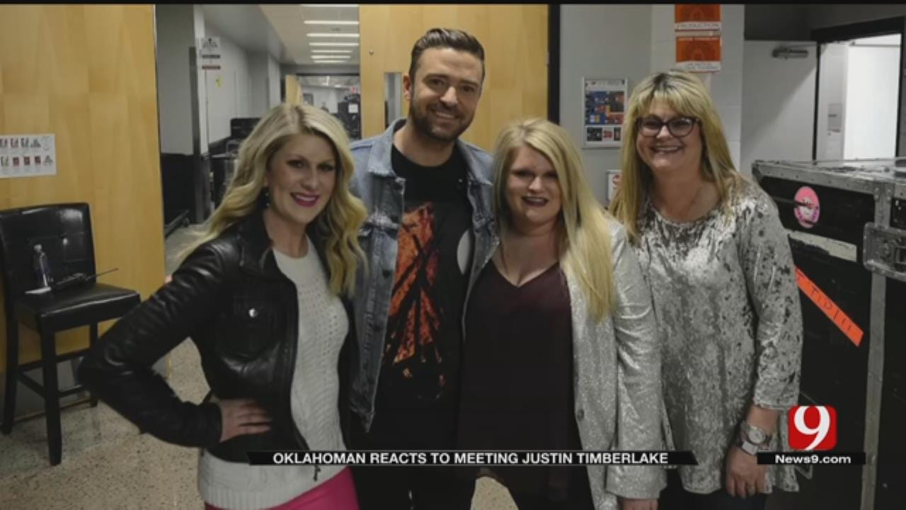 Okla. Woman Who Credits Justin Timberlake For Saving Her Life Meets Him At Concert