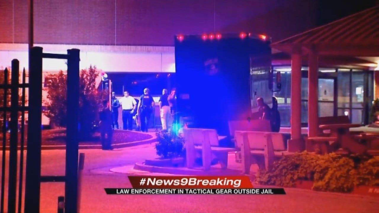 Emergency Unfolds At Oklahoma County Jail