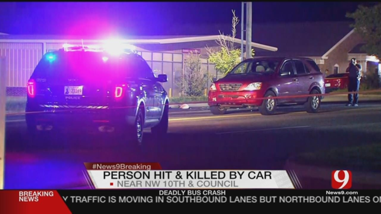Two Fatal Accidents In NW OKC Along Council Road