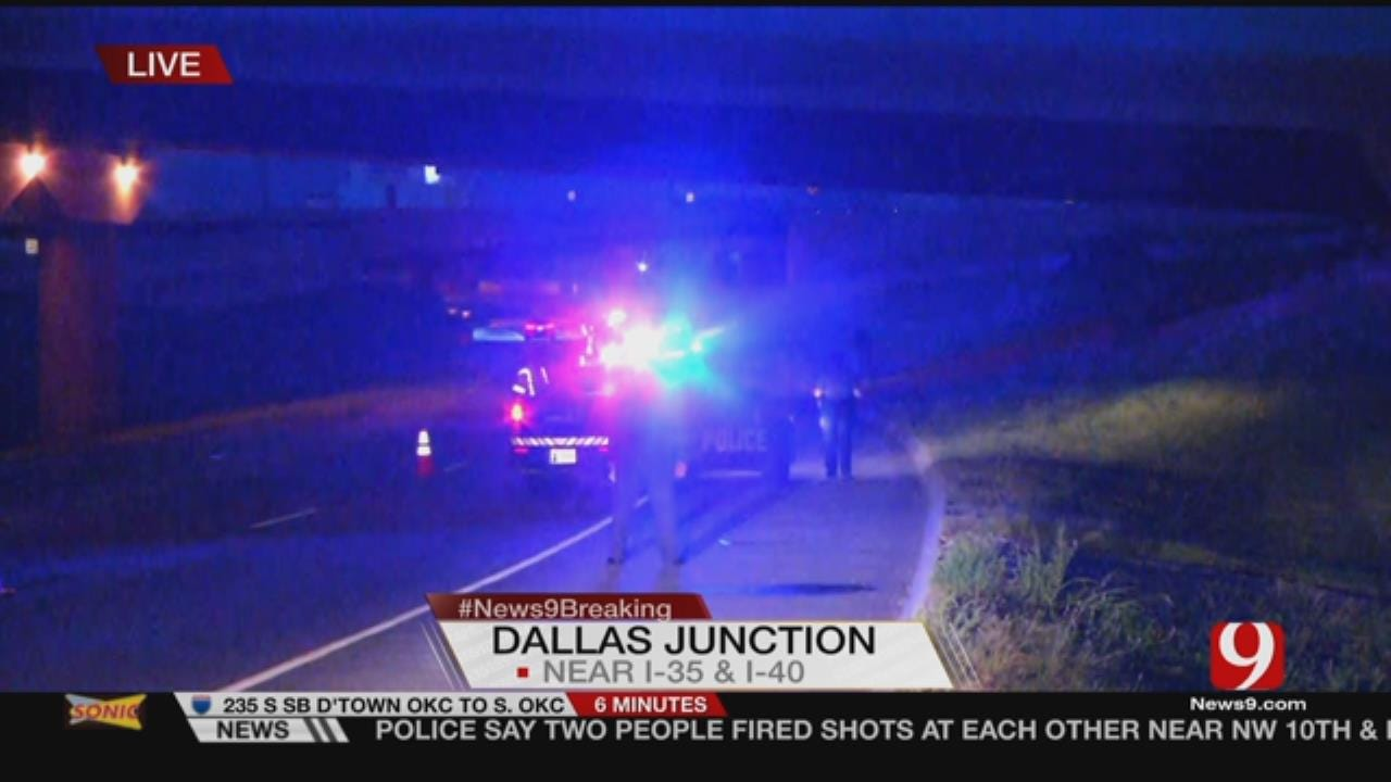 OKCPD Investigate Shooting Near I-35 And I-40