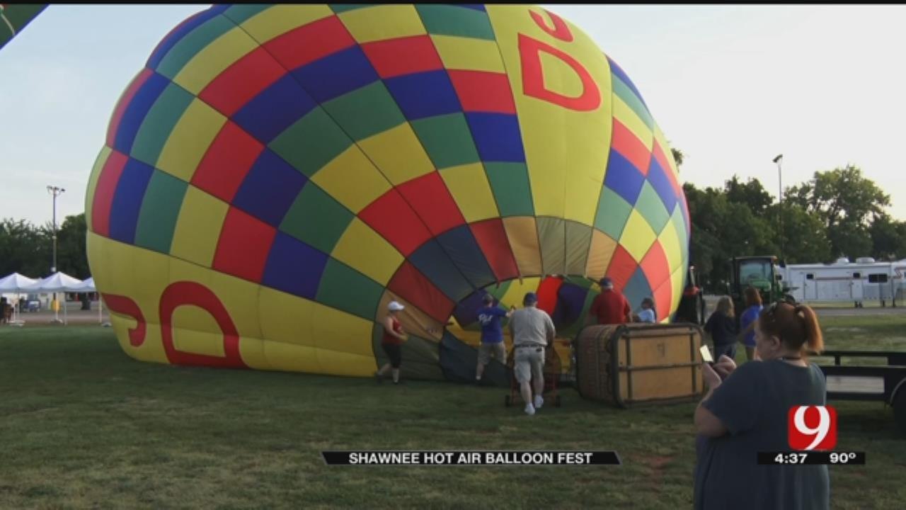 News 9 Flies In A Hot Air Balloon
