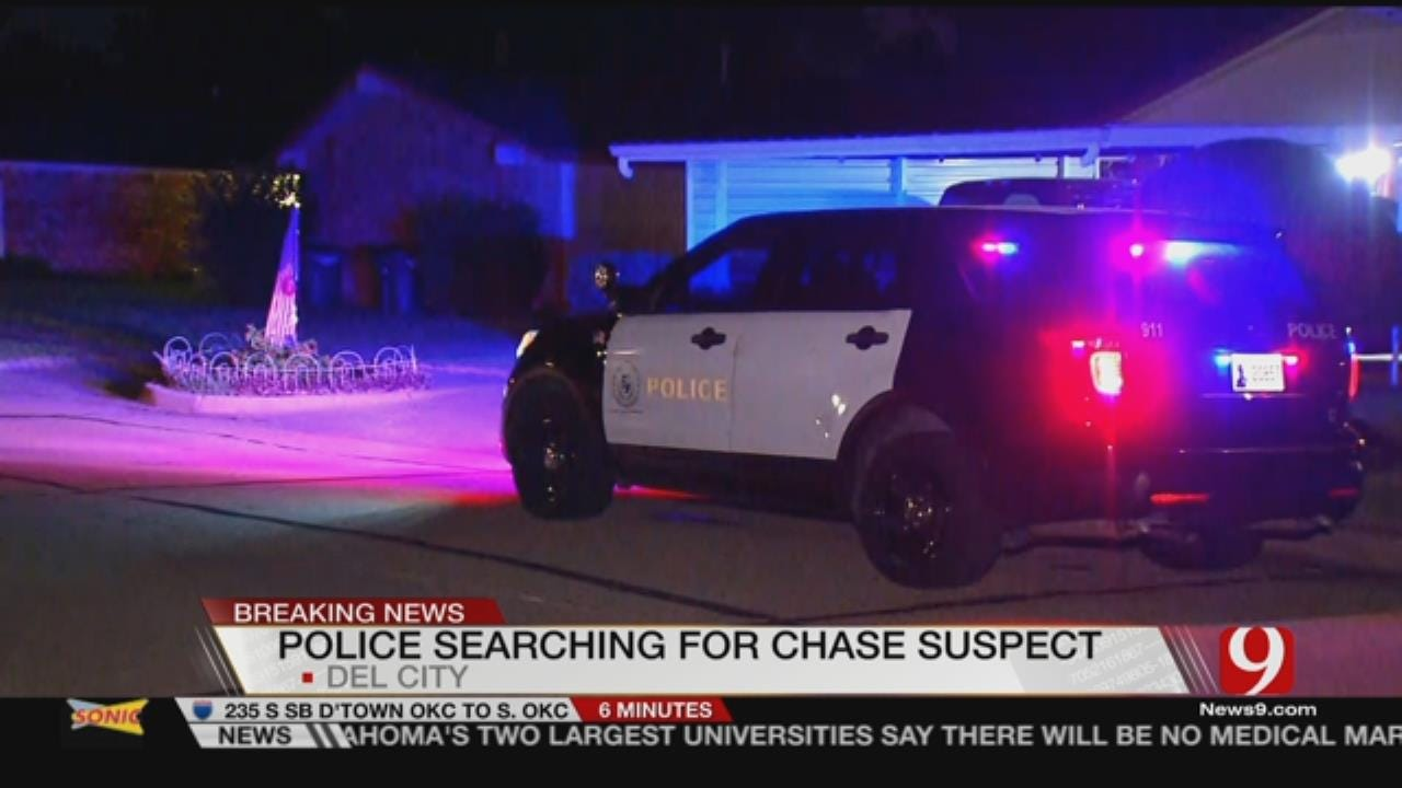 Suspect Leads Police On Chase Through Del City