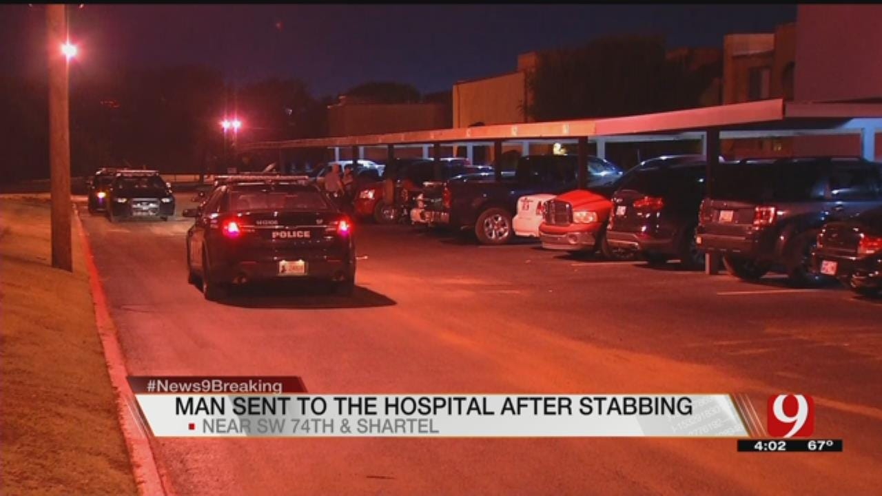 Stabbing Victim Transported To The Hospital In South OKC
