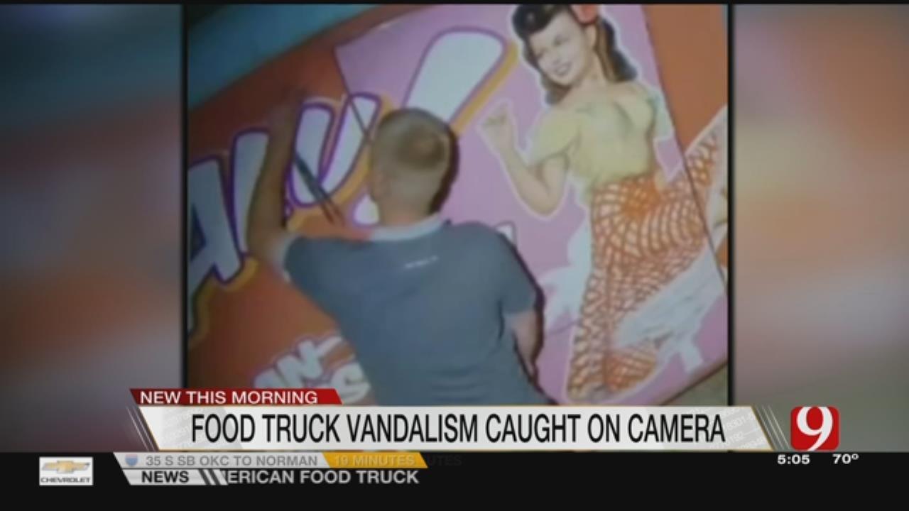 Metro Food Truck Vandalized