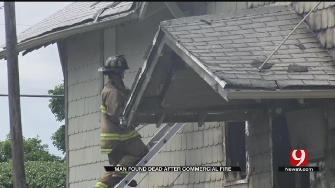 1 Dead After 4-Alarm Commercial Fire In OKC