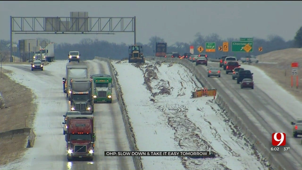 OHP: Slow Down & Take It Easy During Wintry Precipitation