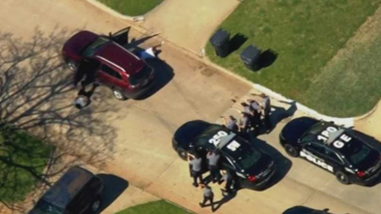 WATCH: Suspects Taken Into Custody As Wild Police Chase Ends In SW OKC