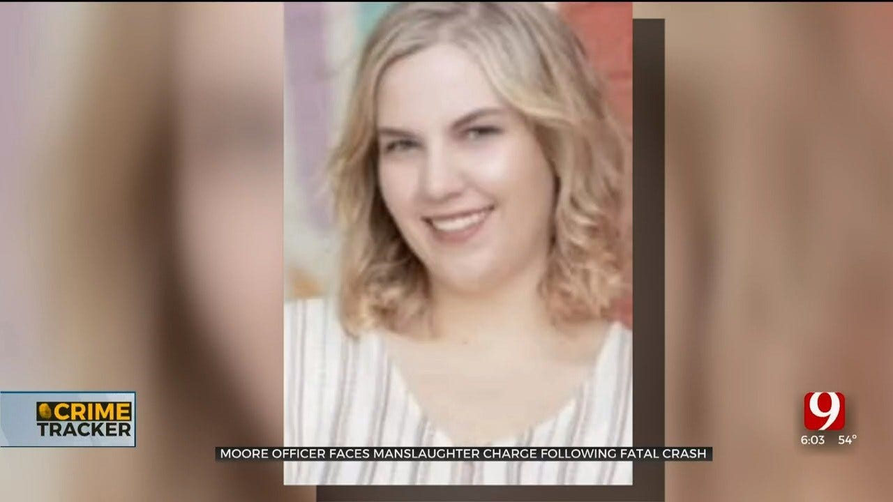 OKC Police File Manslaughter Probable Cause Affidavit Against Moore Police Officer Involved In Fatality Crash