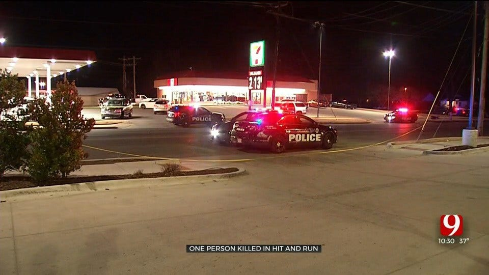 Police: Pedestrian Dies After Hit-And-Run Crash In SW OKC