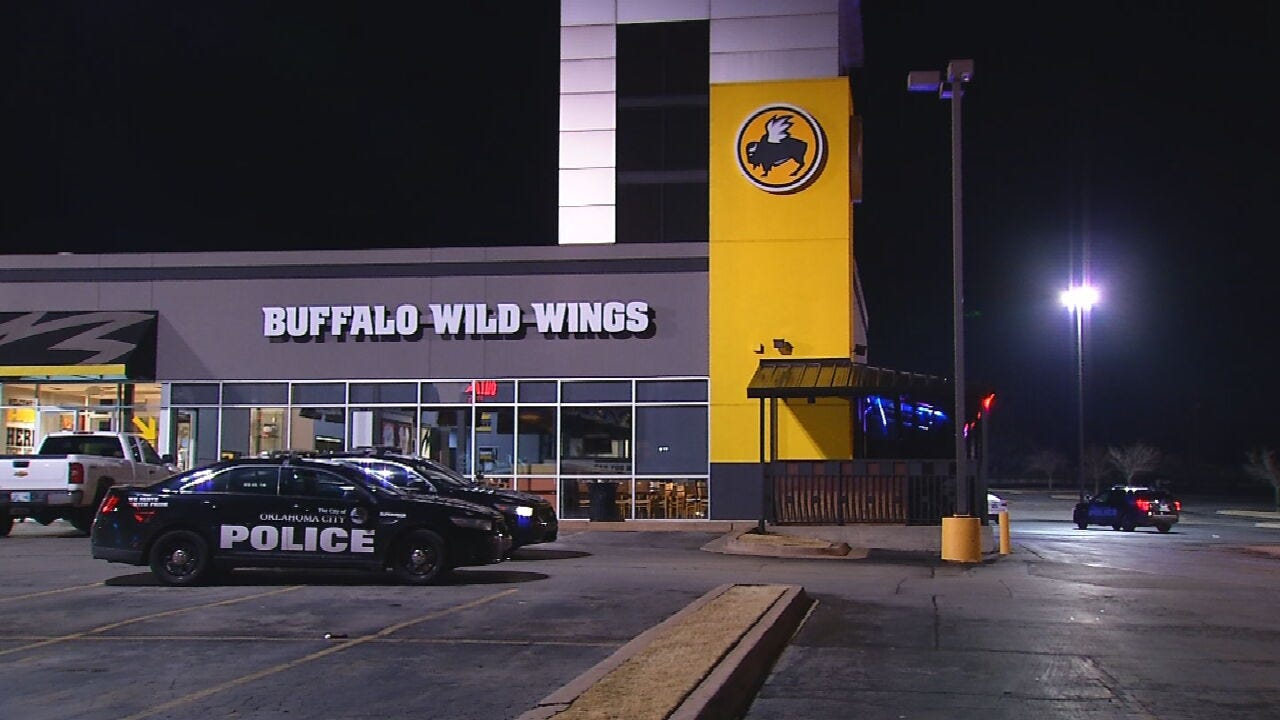 OKC Police Respond To Armed Robbery At Buffalo Wild Wings Overnight