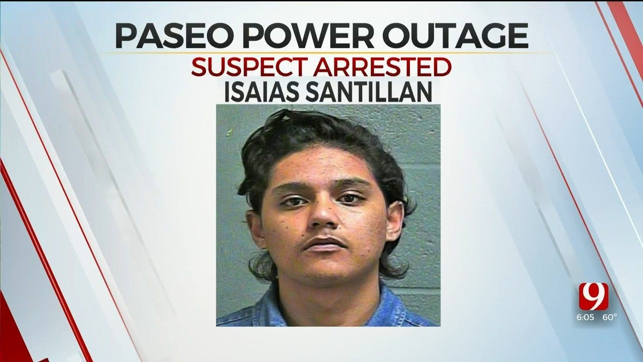 Police Say OKC Man Arrested On DUI Charges Responsible For Paseo Power Outage