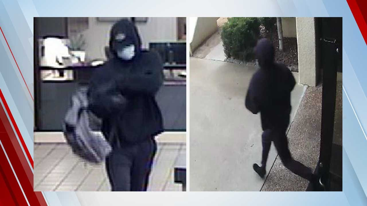 FBI Searching For Suspect After Armed Bank Robbery In SE OKC