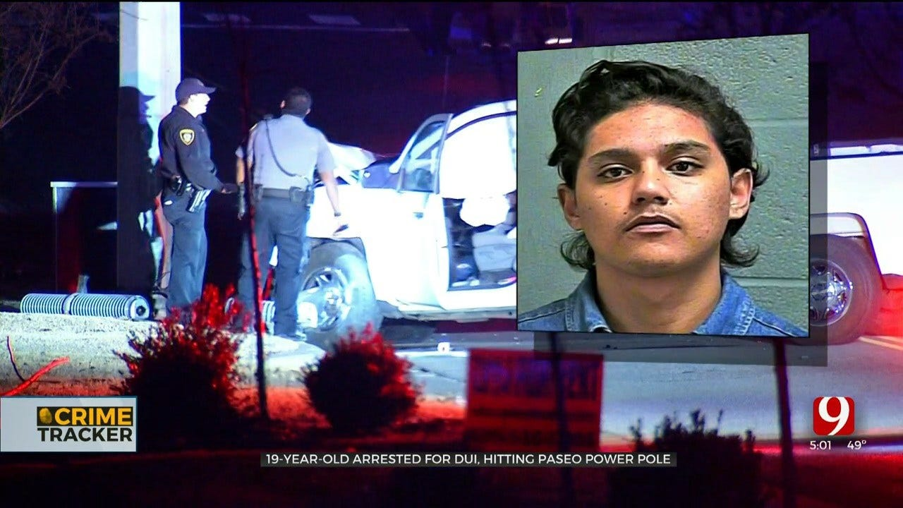 Teen Faces DUI Charge After Hitting Power Pole, Causing Large Outage In Paseo District