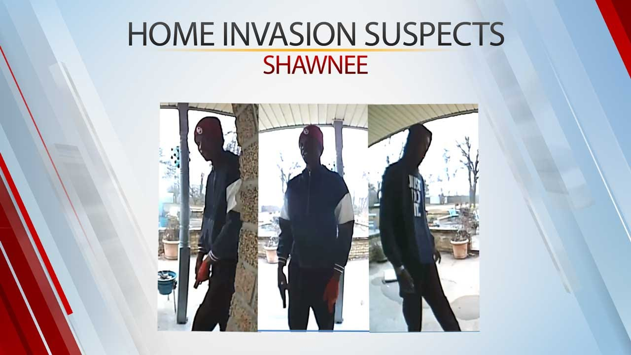 Law Officers Looking For 2 Armed Burglars After Home Invasion In Shawnee