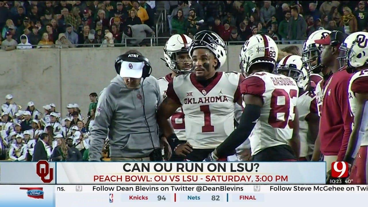 Can OU Run On LSU At The Peach Bowl?