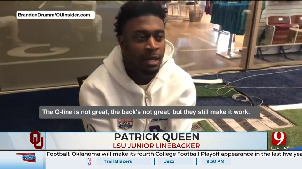 Peach Bowl Media Day Recap: LSU's Queen Catches OU's Attention With Comments