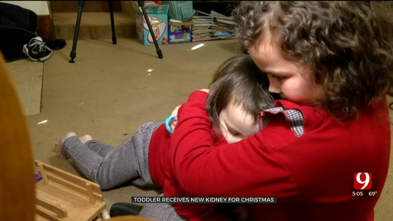 3-Year-Old Norman Girl Gets New Kidney For Christmas