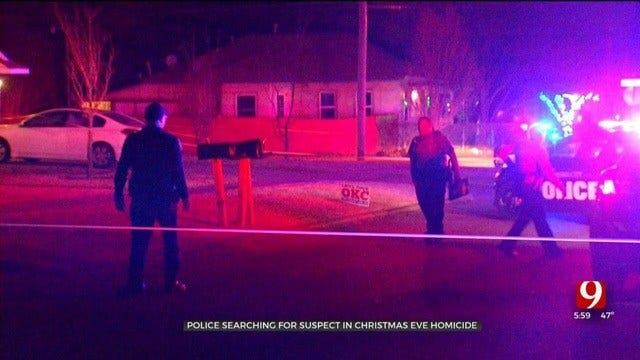 OKC Police Searching For Suspect In Christmas Eve Shooting Death