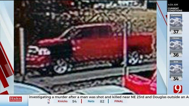 MWC Police Looking For Truck Tied To Homicide Investigation