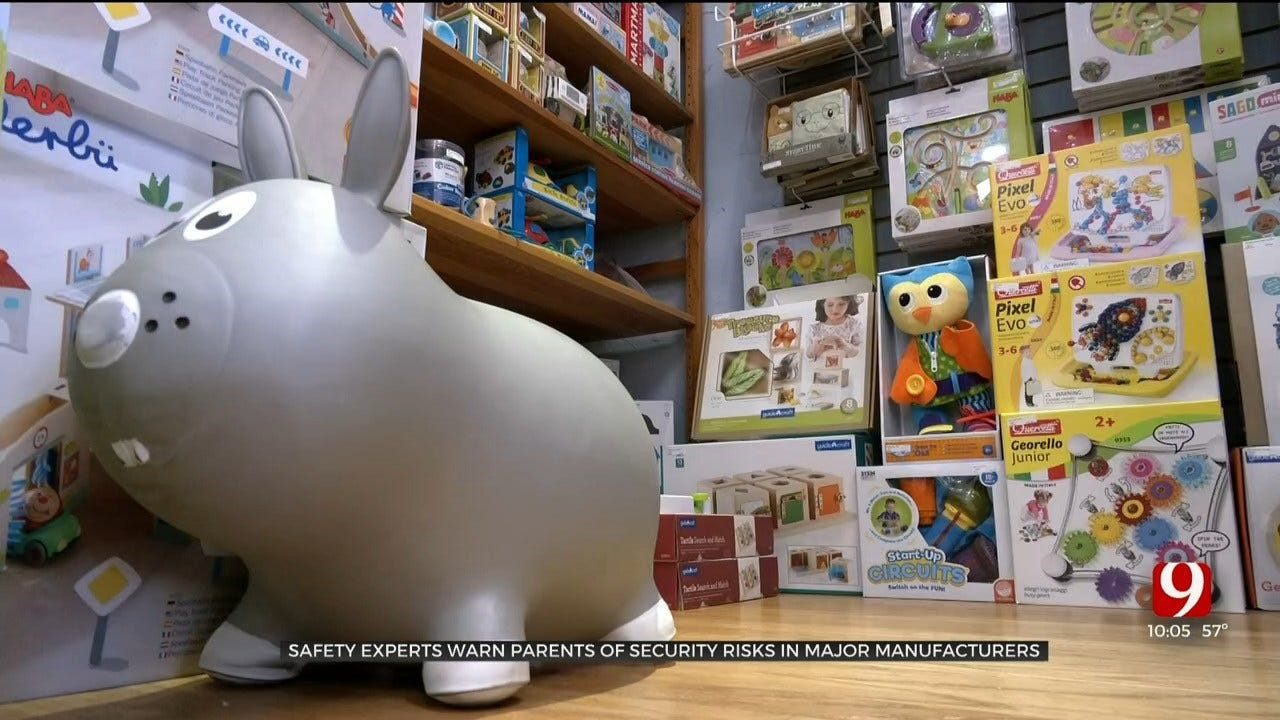 Cyber Expert: Read Toy Agreements To Avoid Releasing Personal Information