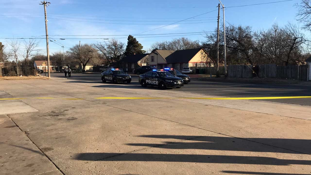 Investigation Underway After Drive-By Shooting At NW OKC Bus Stop