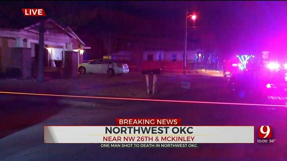 Police Investigating After 1 Shot, Killed In NW OKC