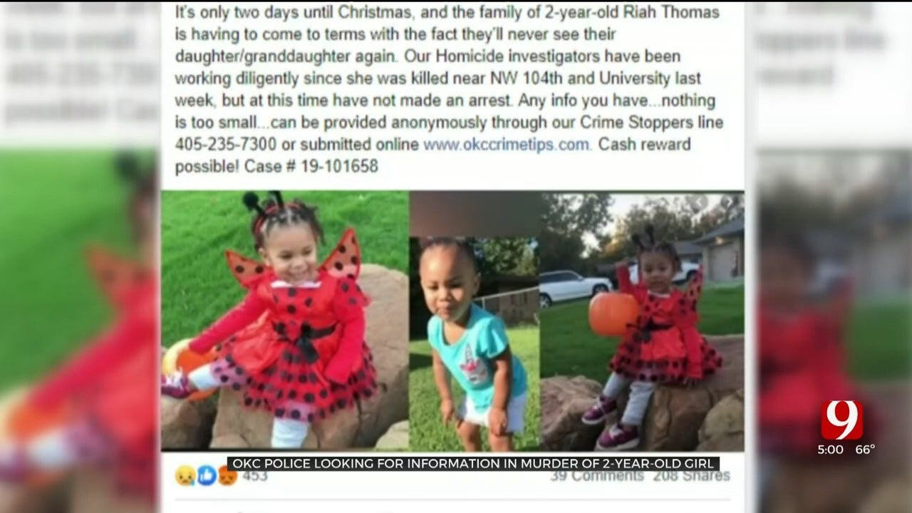 OKC Police, Family Still Searching For Answers In Shooting Death Of Toddler