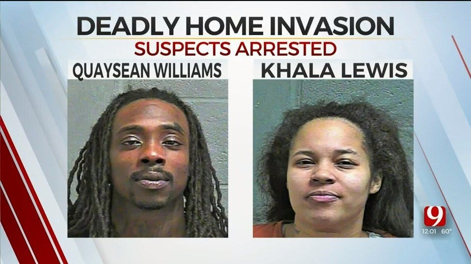 2 Suspects Arrested In Deadly Home Invasion In NW OKC