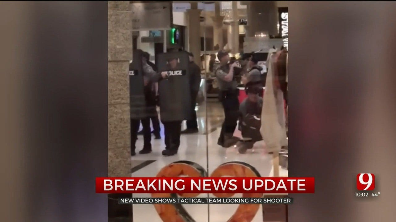 TEAM COVERAGE: Police Searching For Suspect After 1 Critically Injured In Penn Square Mall Shooting