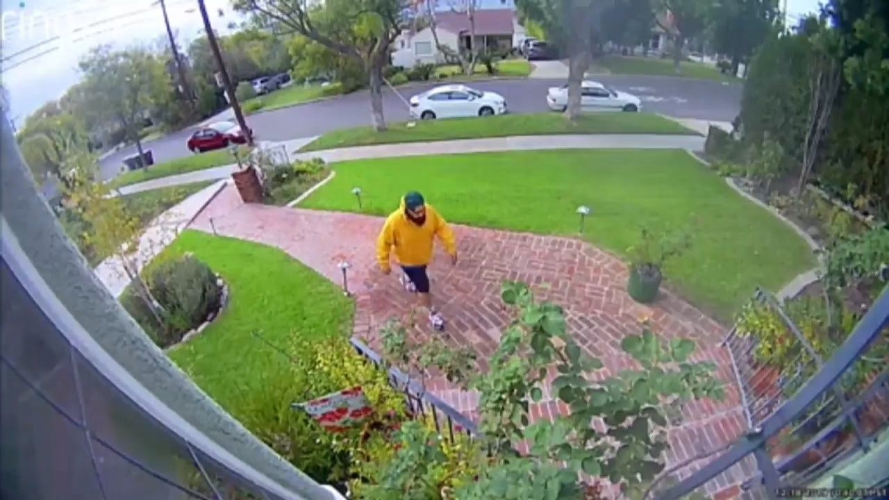 WATCH: Camera Captures Thief Stealing $10,000 From Woman In Grandparent Scam