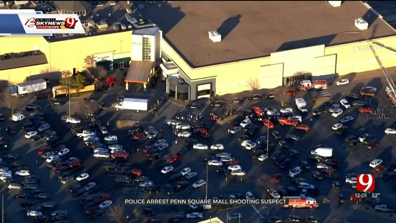 Suspect Surrendered To Police Hours After Penn Square Mall Shooting