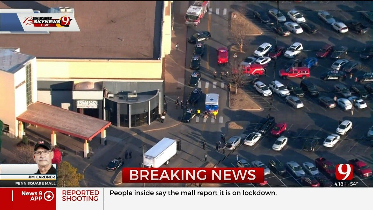 OCPD: 1 Injured In Shooting At Penn Square Mall