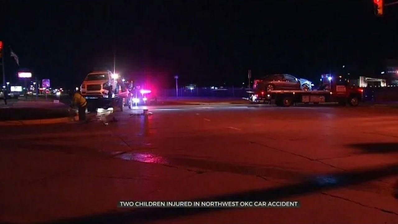 2 Children Injured In NW OKC Crash