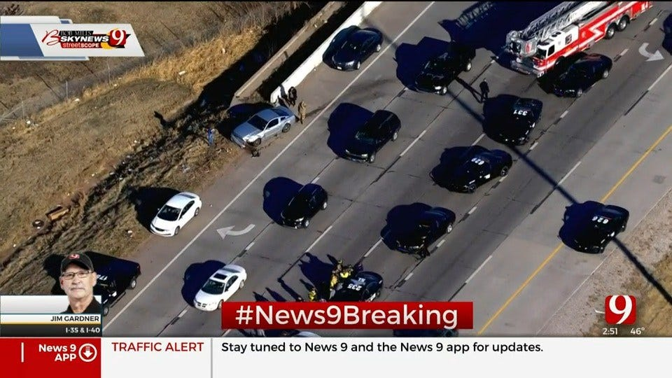 Wrong-Way Driver Under The Influence Causes Accident At I-35 & I-40, Police Say