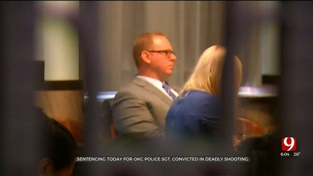 OKC Police Sgt. Convicted In Deadly Shooting To Be Sentenced Wednesday