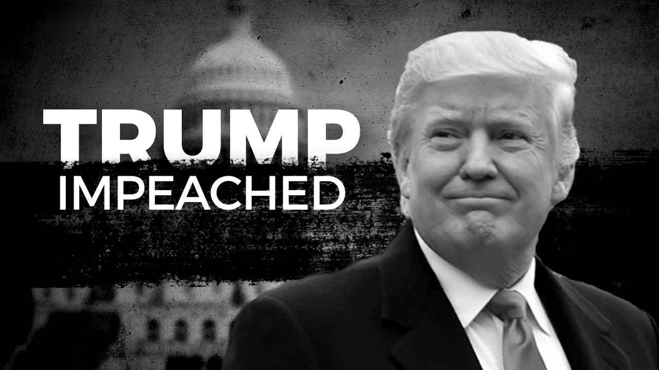 President Donald Trump Impeached By US House On 2 Charges