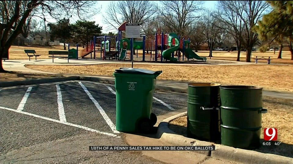 1/8 Sales Tax For OKC Parks To Go On March 3 Ballot