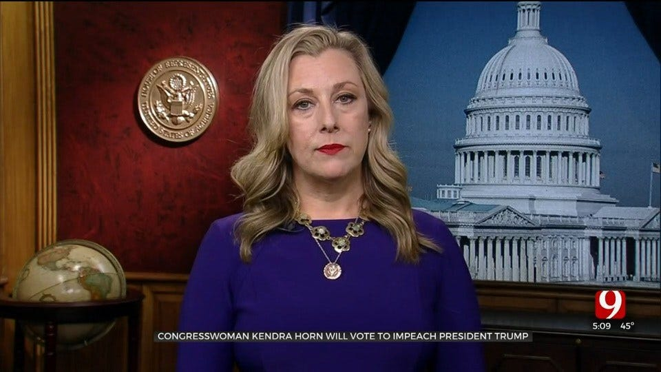 'This Is Not A Partisan Issue': Rep. Horn Explains Her Decision To Vote For Impeachment