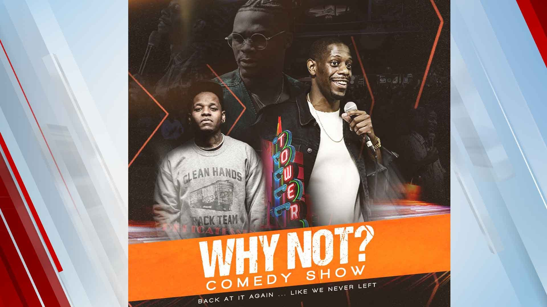 'Why Not?' Comedy Show To Return To Oklahoma City