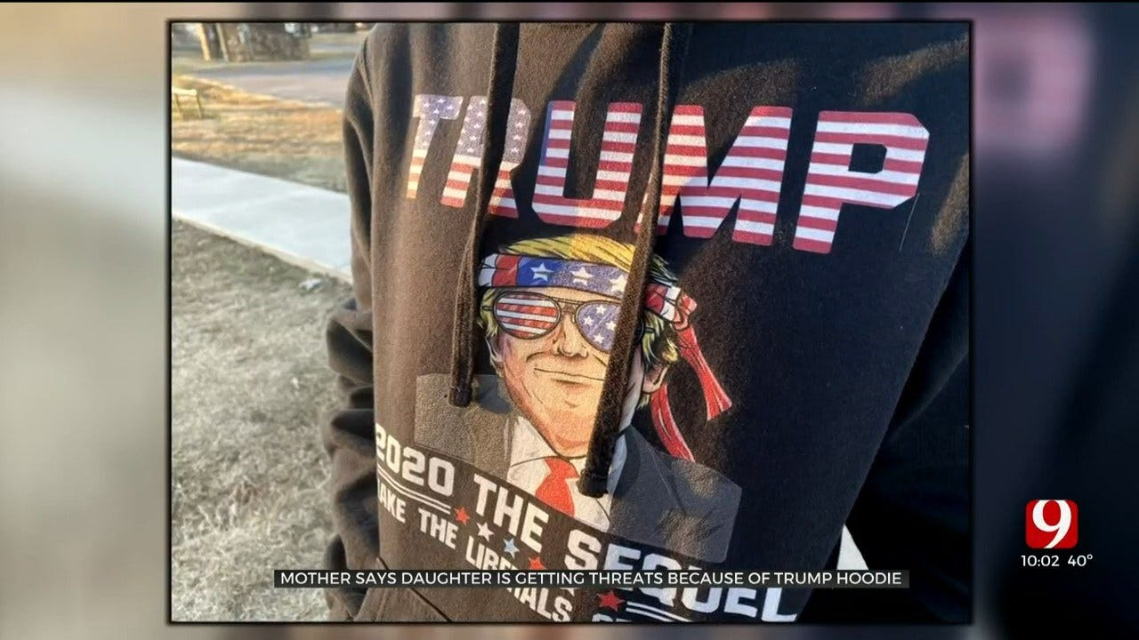 Lindsay Mother Says Daughter Is Getting Threats Because Of Trump Hoodie