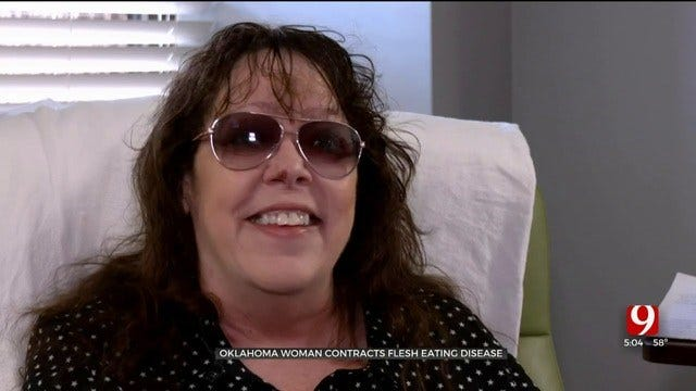 Oklahoma Woman Hospitalized After Being Diagnosed With Flesh-Eating Disease